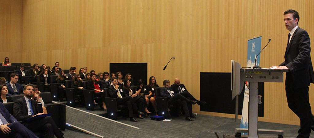 Kyle Farley – Dean of Students di NYU apre la conferenza di Abu Dhabi