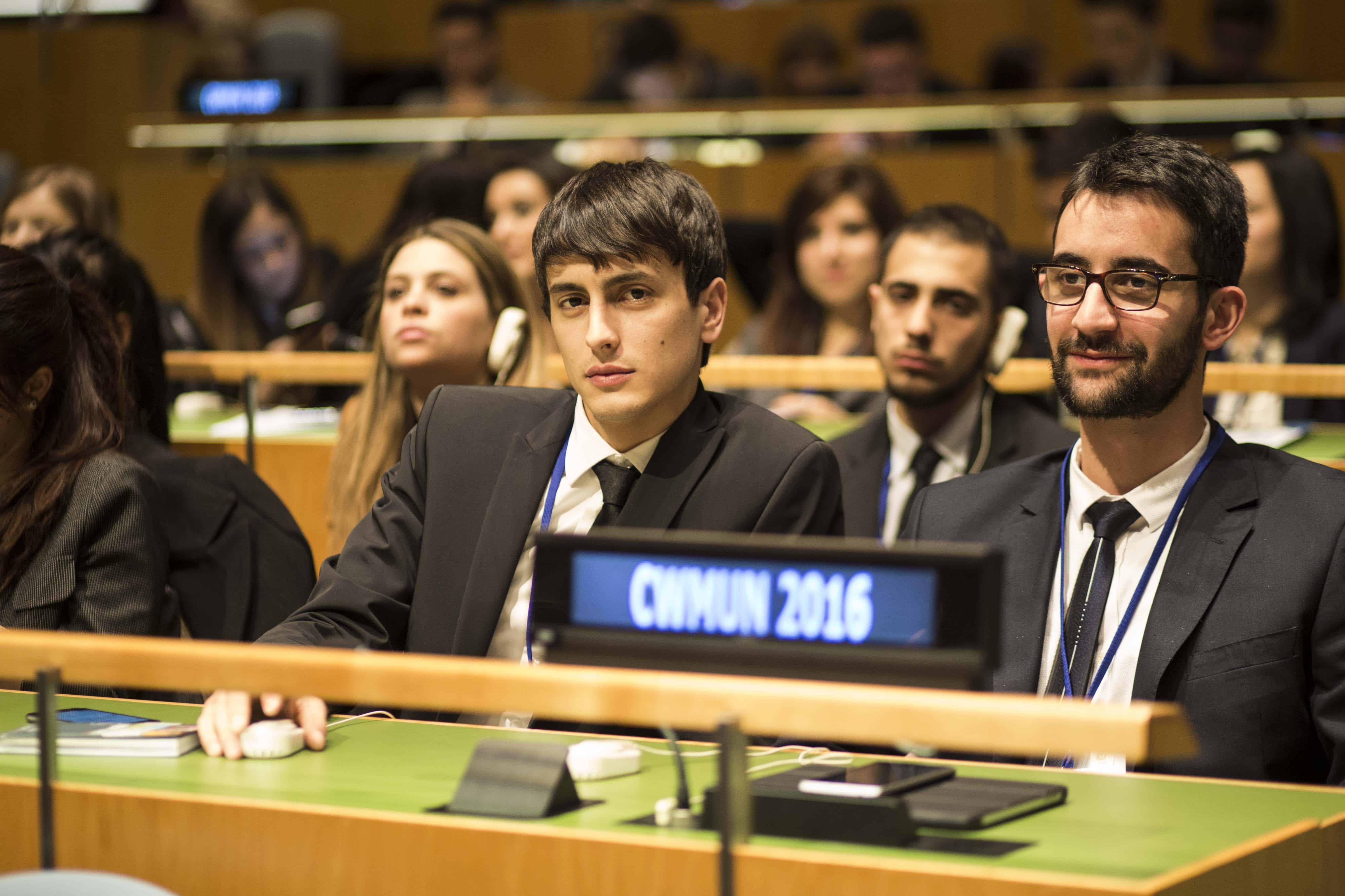 Sono stati circa 1800 gli studenti partecipanti lo scorso anno all'edizione 2016 del CWMUN NYC